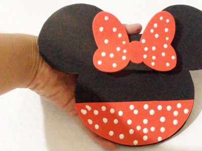Como Fazer Estojo da Minnie - Faça Você Mesmo DIY Artesanato