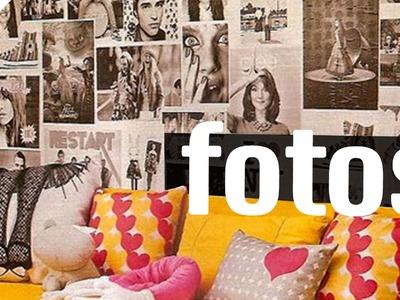 10 FORMAS DE DECORAR COM FOTOS | Diycore