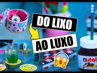 DIY: Do LIXO ao LUXO - 3 Ideias que você precisa Tentar ✂️️ #2