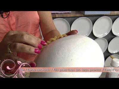 Faça uma linda Bomboniere de Páscoa com isopor!