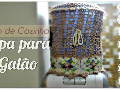 JOGO DE COZINHA -CAPA PARA GALÃO.DIANE GONÇALVES