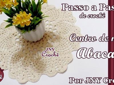 PAP Centro de mesa Abacaxi por JNY Crochê