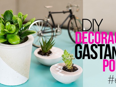 Como decorar gastando pouco - Mesa divertida DIY