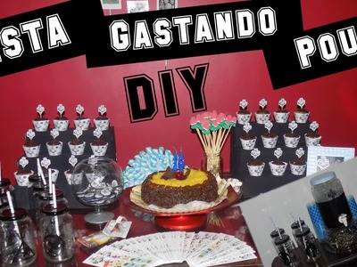 DIY :: Como Fazer Uma Festa Geek Gastando Pouco ou Quase nada!