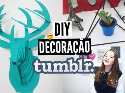 DIY: DECORAÇÃO QUARTO TUMBLR ♡ Bia Gois