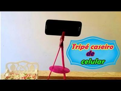 DIY: Tripé caseiro para celular