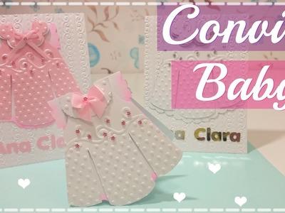 Convite Baby Girl