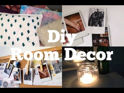 DIY DECORAÇÃO PRO QUARTO | Jade Cavati