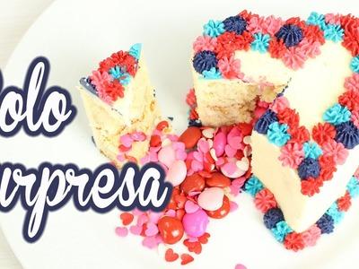 DIY Dia dos Namorados - Mini Bolo Surpresa | Bolo Piñata