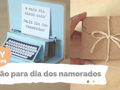 DIY DROPS | Cartão de dia dos namorados | Por GavetaMix