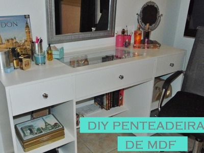 Diy Penteadeira Camarim de MDF