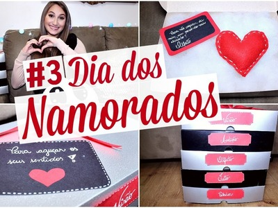 """DIY: Presente dos 5 Sentidos """"Dia dos Namorados"""""""