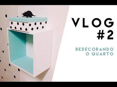 Vlog #2: redecorando o quarto. O MUNDO DE JESS