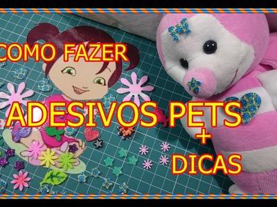 #COMO FAZER ADESIVOS DE EVA PARA  PETS + DICAS