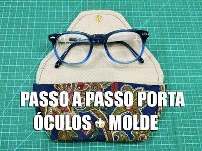 Dica de Sexta - PAP Porta óculos + molde (Tutorial Patchwork)