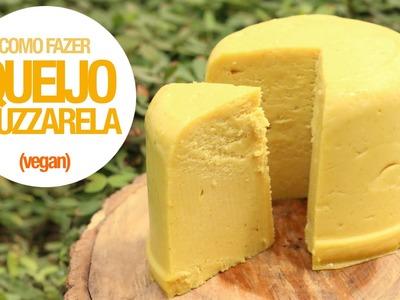Aprenda a fazer Queijo Muzzarela (0% Lactose - Vegan - SUPER FÁCIL) 83#VegetariRANGO