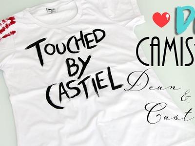 DIY: Camisa Castiel e Dean - Supernatural