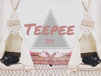 DIY | Dog Teepee (Cabana, Tenda) | Pinterest.Tumblr Inspired