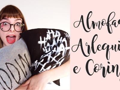 DIY - Almofadas Arlequina e Coringa - Esquadrão Suicida