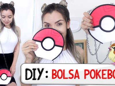DIY: Bolsa Pokebola (Sem costurar!!!)