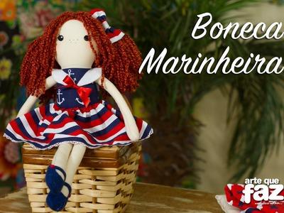 DIY - Boneca Marinheira - Janine Gabriele