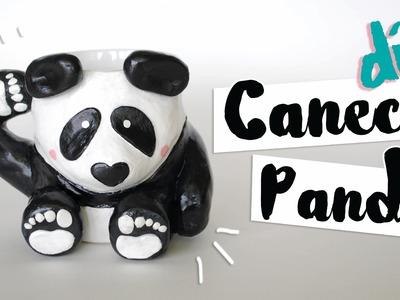 DIY: Caneca Panda por Isabelle Verona