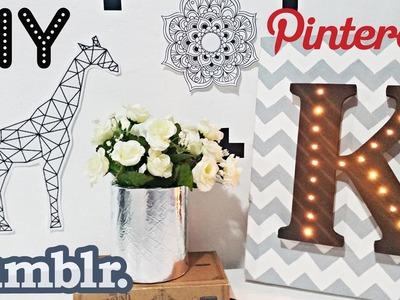 DIY: Decoração de quarto | Inspired Tumblr & Pinterest #2