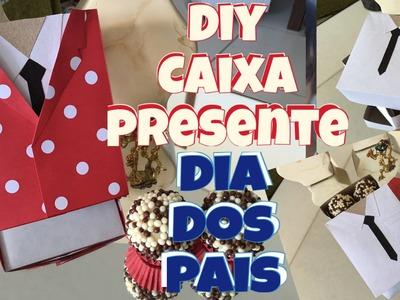 DIY DIA DOS PAIS - CAIXA PERSONALIZADA