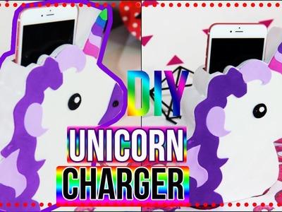 DiY: Suporte de Celular de Unicórnio| Unicorn Charger |Tatiane Xavier