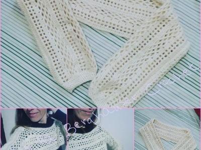 Cropped de Croche Parte 1.Bolero de croche. Crochet Shrug.Crochet bolero Crochet croptop