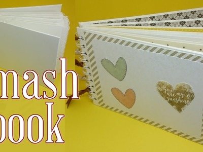 DIY | Álbum Scrapbook | Smash book Estrutura parte 1