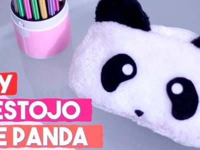 DIY Estojo de Panda Fofinho | Projeto DIY