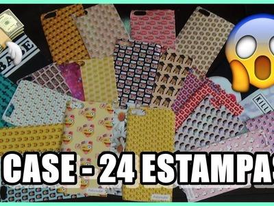 1 CASE 24 ESTAMPAS! DIY: COMO FAZER CAPINHA PARA CELULAR