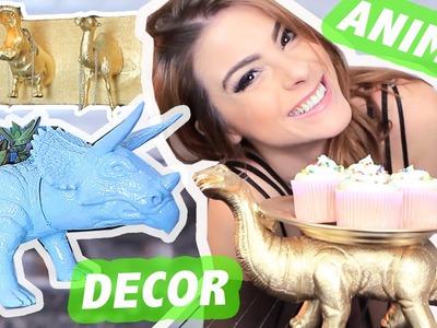 DIY :: 6 IDEIAS c. Animais de Brinquedo! DECOR INCRÍVEL!