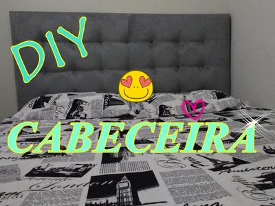 DIY : Cabeceira para a cama estilo capitone fácil e barata