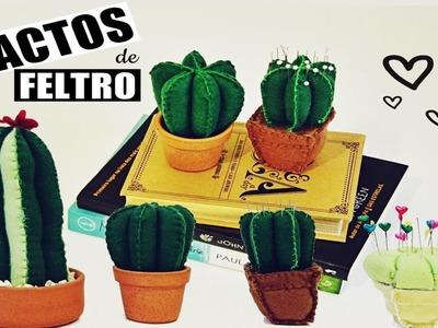 DIY| Cactos de feltro ♥