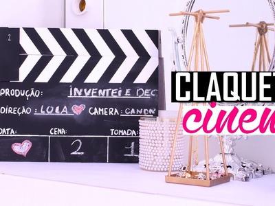 DIY: COMO MONTAR UMA CLAQUETE DE CINEMA EM CASA, POR MENOS DE 20 REAIS| Por Lorena Lima