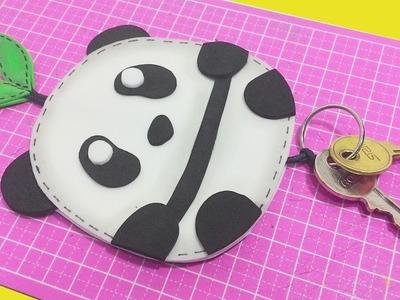 DIY -  Porta Chaves Panda Kawaii - Segredos de Aline