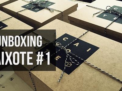 UNBOXING: Caixote #1 - Clube de Assinatura de Decoração e DIY - Homens da Casa