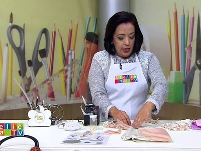 Ateliê na TV - TV Gazeta - 04.07.16 - Yvone Lobato