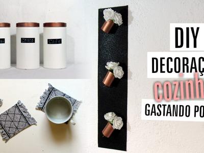 DIY | 3 idéias de Decoração para Cozinha - Materiais Reciclados - Gastando Pouco
