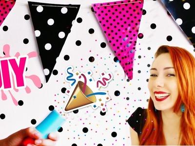 DIY: IDEIAS PARA FESTA EM CASA Ft. Carol Gomes #VEDA21