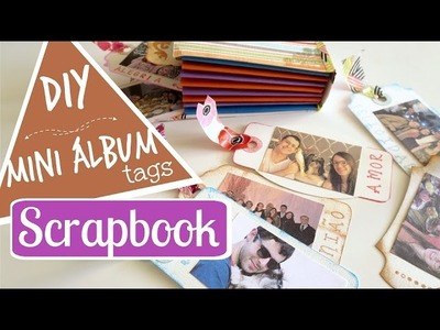 DIY MINI ÁLBUM SCRAPBOOK | #PapelEmTudo