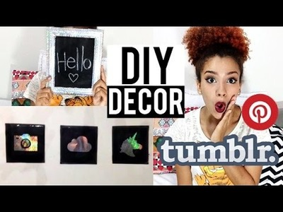 DIY: Quadrinhos para decorar estilo pinterest