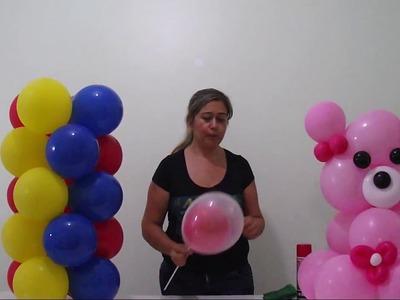 Como manter o brilho dos balões  - how to maintain the shine of balloons