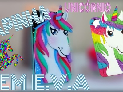 DIY: CAPINHA EM E.V.A ~UNICÓRNIO~