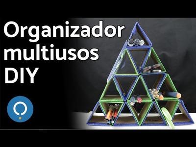 Organizador multiusos DIY   Fácil