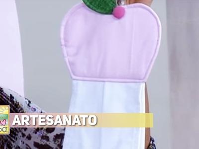 Artesanato - Bate mão para cozinha