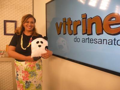 Naninha com Regina Mação | Vitrine do Artesanato na TV