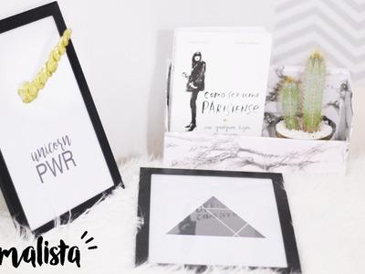 DIY | Porta Objetos de Caixa de Sapatos, Chifre de Unicórnio e +